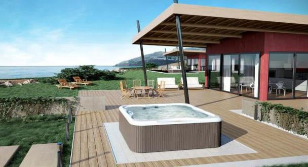 New Jacuzzi hot tub for holiday homes