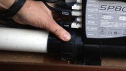 loosen the controller valves