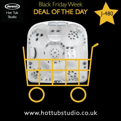 Black Friday Hot Tub Offer 1 Jacuzzi J-480