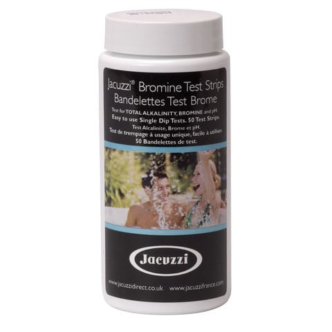 Jacuzzi hot tub bromine test strips